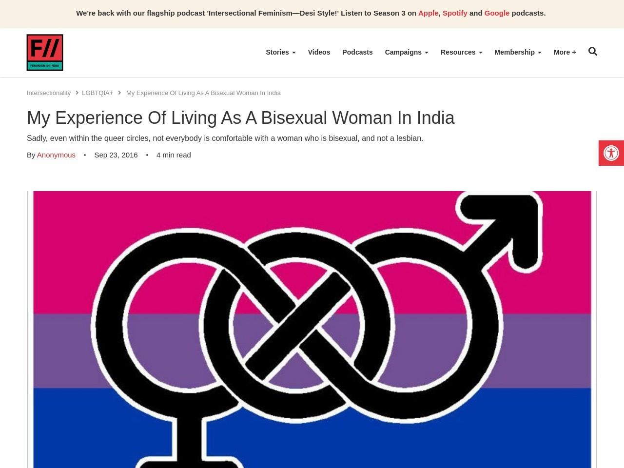Indian Bisexuals Woman