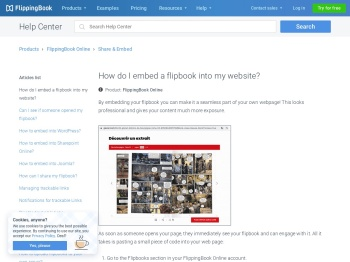 How do I embed a flipbook into my website? | FlippingBook
