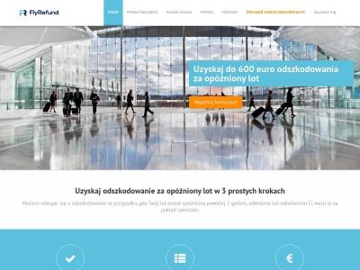 Odszkodowanie za opóźniony lot ǀ Fly Refund