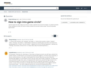 How to sign into game circle? - Forums