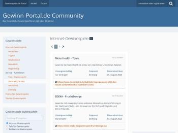 Gewinn-Portal.de - Gewinnspiele & Loesungen ...