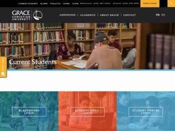 Current Students - Grace Christian University