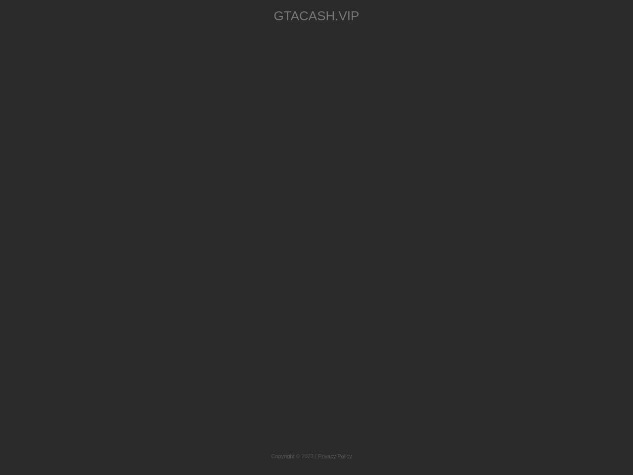 Gta Money Generator