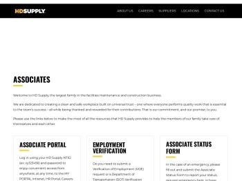 Associates – HD Supply