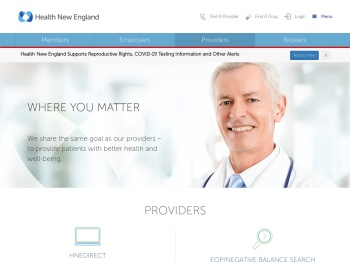 Where you matter - Health New England Providers
