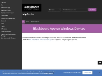 Blackboard App on Windows Devices | Blackboard Help