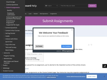 Submit Assignments | Blackboard Help