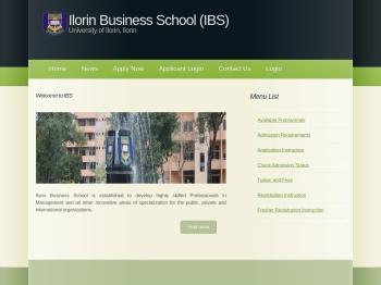 Unilorin: IBS