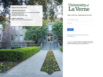 Welcome to the La Verne Portal!
