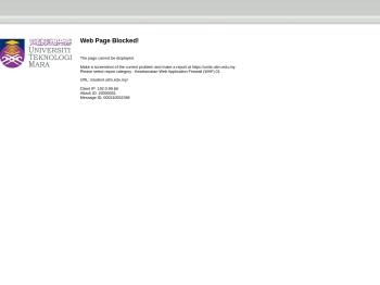 UiTM - iStudent Portal