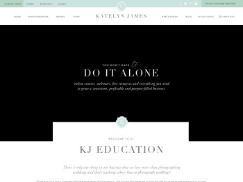 Katelyn James Education - Grow Your Photography Business‎
