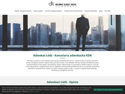 Adwokat Łódź. Rozwód, odszkodowania | Kancelaria prawna KDK