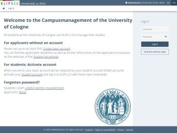 Klips 2.0 - Universität zu Köln