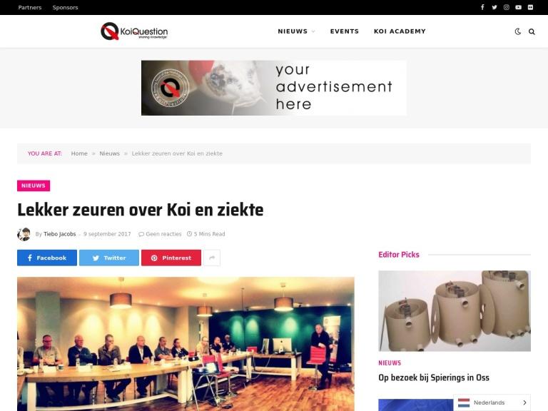 Koi illness class