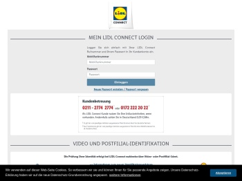 Mein Lidl Connect - Lidl Connect
