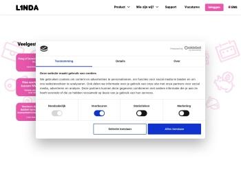 Inloggen L1NDA Planner   L1NDA