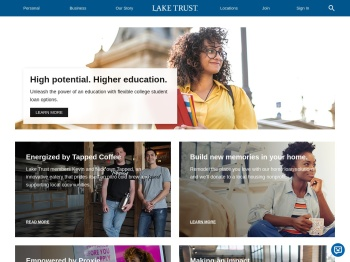 Lake Trust Credit Union.: What's New