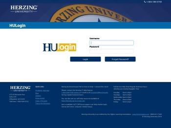 Herzing University Portal