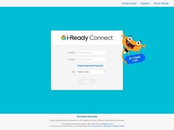 Log in to i-Ready