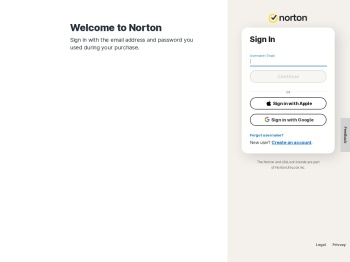 Sign In - Official Site   Norton Account Sign In & Set Up