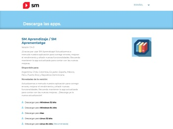 Descarga las apps | SM Aprendizaje