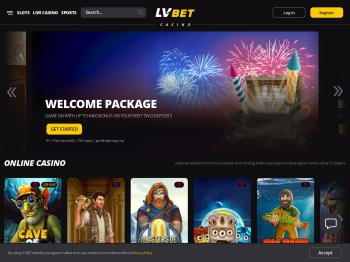 Online Casino LV BET & Play Online Slots and Casino Games