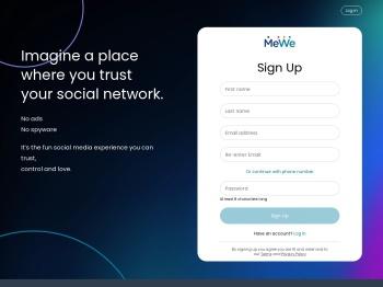 MeWe - The Next-Gen Social Network