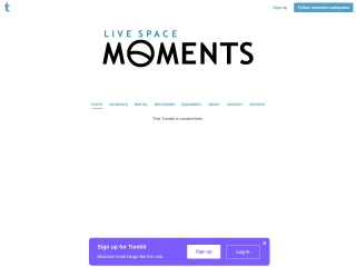 LIVE SPACE MOMENTS