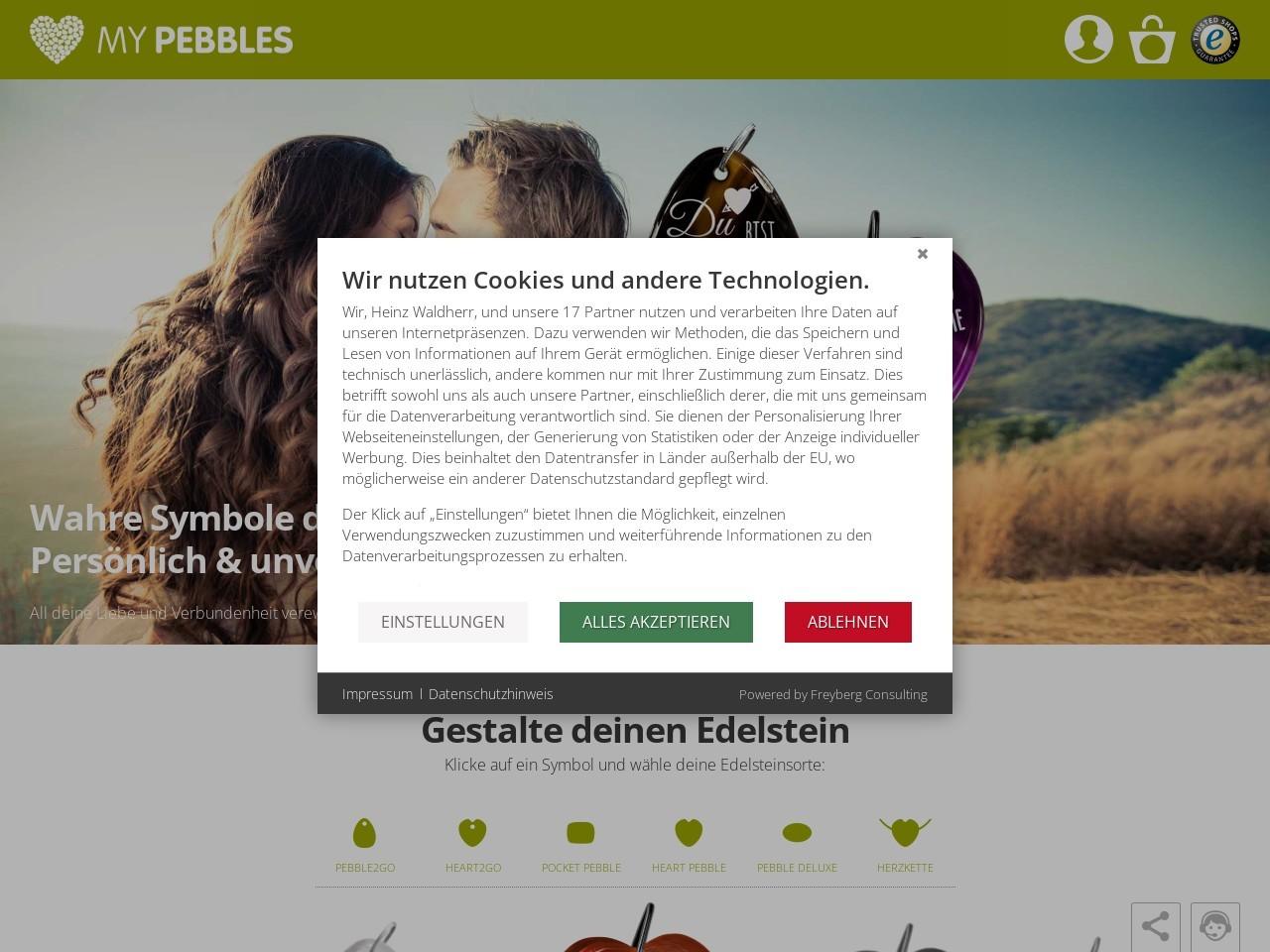 Gutscheincode my pebbles