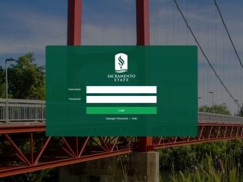 Sacramento State Single Sign-On