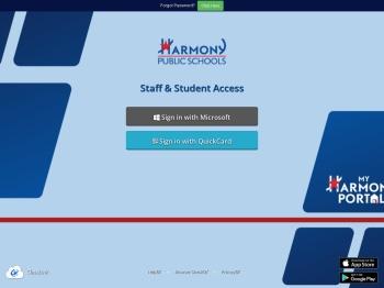 My Harmony Portal - Harmony Public Schools