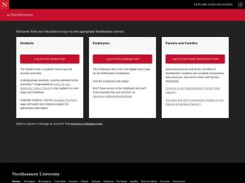 myNortheastern - Northeastern University