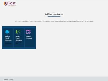 Self-Service Portal - Student Portal