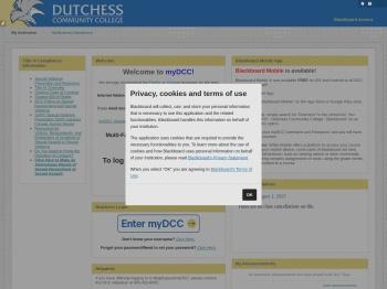 my DCC/Blackboard - Dutchess Community College