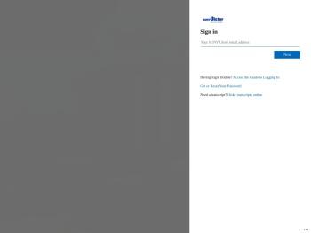 My SUNY Ulster: Login