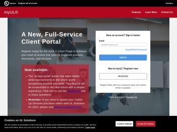 myUL® – A New, Full-Service Client Portal