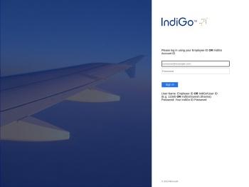Sign In - IndiGo