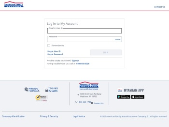 My Account - American Family Insurance