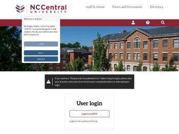 myEOL - North Carolina Central University