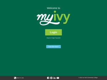 MyIvy at Ivy Tech