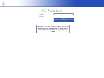 NAK-Portal Anwendung | Login
