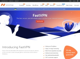 Namecheap VPN Services screenshot