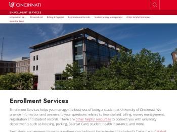 UC OneStop - University of Cincinnati