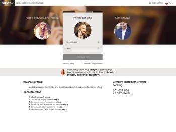mBank serwis transakcyjny
