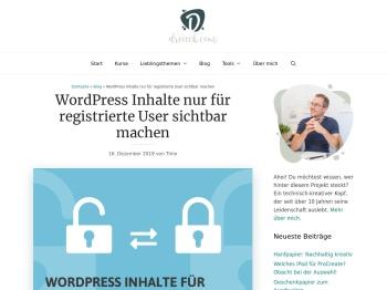 WordPress Inhalte nur für registrierte User sichtbar - Ostrich.de