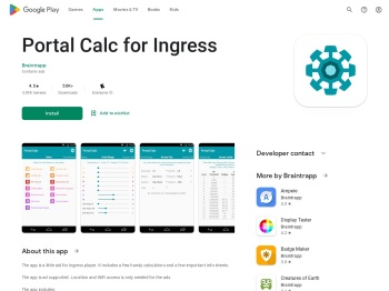 Portal Calc for Ingress - Apps on Google Play