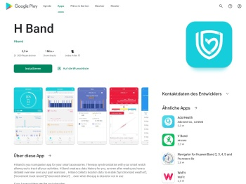 H Band – Apps bei Google Play