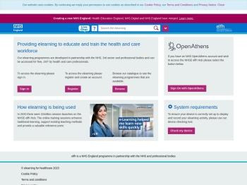 e-LfH Hub - e-Learning for Healthcare