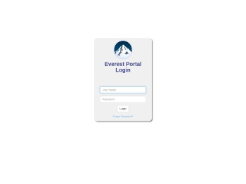 Everest Portal Login