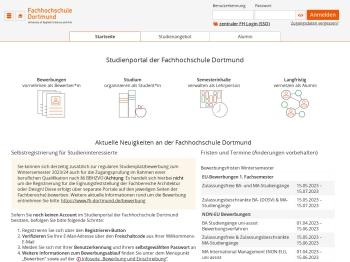 Studienportal der Fachhochschule Dortmund - Hochschule HIS